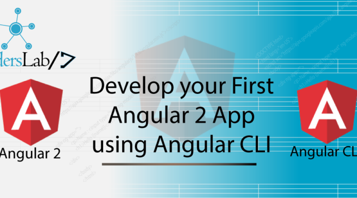 Develop your First Angular 2 App using Angular CLI | iCodersLab